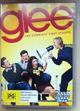 Glee : The Complete First Season (DVD, 2011, 7-Disc Set, Region 4)