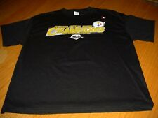 NEW WT NFL PITTSBURGH STEELERS SUPERBOWL T-SHIRT MENS L BLACK COTTON