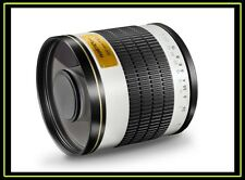 Objetivo Walimex 15538, tele, SLR, M42, 7/6, Manual, 0 - 500 mm