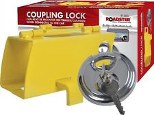 COUPLING LOCK HIGH SECURITY HITCHLOCK CARAVAN TRAILER HITCH HIGH QUALITY PADLOCK