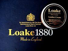 """LOAKE BROGUES BOOT SHOE """"TAN LEATHER CREAM """" REVIVES PROTECTS SMOOTH LEATHER"""