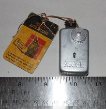 Vintage Kodak Automatic Release Remote Shutter Control with Instruction Tag