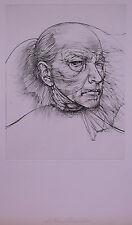 Bellmer, Hans (1902-1975) - Radierung Selbstbildnis mit blauem Auge 71 Probe