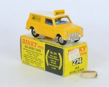DINKY 274 ALL ORIGINAL AA MINI VAN VERY NEAR MINT IN A REALLY EXCELLENT BOX