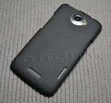 New Black Rubberized Hard Case cover for HTC One X S720e