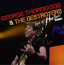 GEORGE THOROGOOD & THE DESTROYERS - LIVE AT MONTREUX 2013  CD NEU