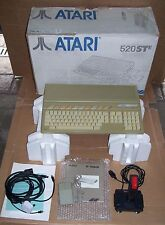 Atari ST computer 520 STE 4mb memory upgrade good DMA Games mouse Joystick BOXED