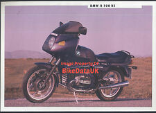 BMW R100RS (1991) Dealership Sales Brochure R 100 RS,Boxer Twin,1000
