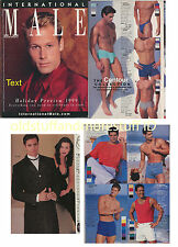 INTERNATIONAL MALE 10-99 OCTOBER 1999 UNDERGEAR TV'S VICTOR WEBSTER SPEEDOS RARE