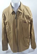 2011 MENS NIKE SB GARAGE JACKET $135 L brown USED sample logo patch