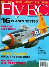 2003 Fly RC Magazine: Carb Tuning Secret/3D Electric/Holiday Gift Guide/Bird Dog