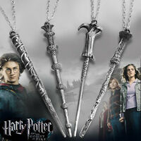 Harry Potter Hermione Dumbledore Lord Voldemort Magic Wand Pendant Necklace
