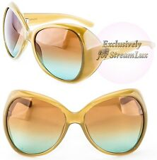 YVES SAINT LAURENT YSL Fashion Cat Eye Brown Sunglasses YSL 6357-S EGBZS