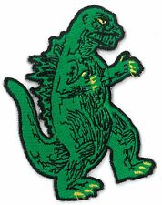 Godzilla iron on/sew on embroidered Patch Applique DIY (US Seller) fast ship