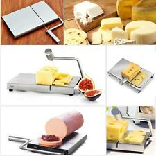 Cheese Slicer Cutter Board Stainless Steel Wire Cutting Kitchen Hand Tool CN