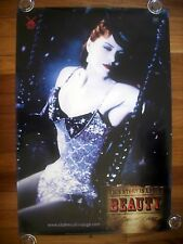 MOULIN ROUGE Beauty Original 2000s Advance OS Movie Poster Nicole in Swing