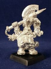 WARHAMMER FANTASY DWARF DRAGON SLAYER MARAUDER GAMES WORKSHOP 1993 Rune Axe OOP