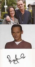 EASTENDERS* PERRY FENWICK 'BILLY' SIGNED 3x5 WHITECARD+UNSIGNED PHOTOS+COA
