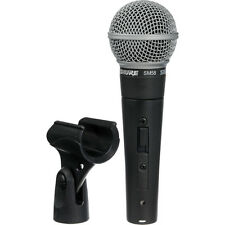 Shure SM58S - Cardioid Hanheld Dynamic Microphone with Switch SM58-S