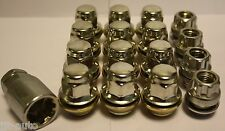 12 X M12 X 1.5 & 4 LOCKING REPLACEMENT ALLOY WHEEL NUTS FIT FORD FIESTA MK4