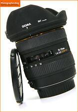 Sigma 10-20mm Ultra Wide DC HSM Autofocus Zoom Lens for Canon EOS + Free UK Post