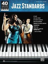 Jazz Standards  40 Sheet Music Bestsellers Series Piano Vocal Guitar S 000322421