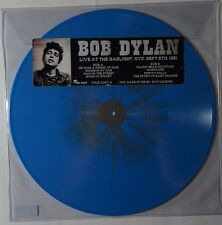 Bob Dylan - live at the gaslight NYC 1961 NEU limited blue vinyl RARE only 300!