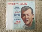 BOBBY DARIN 45 RPM - EP VINYL RECORD IN PICTURE SLEEVE - 4 SONGS