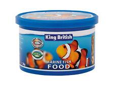 KING BRITISH MARINE FISH REEF FLAKE FOOD 28G