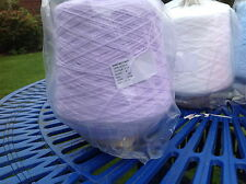 JAMES C BRETT BABY 4PLY MACHINE KNITTING WOOL YARN CONE 500G LILAC SHADE BY3