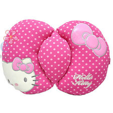 Sanrio Hello Kitty Back Cushion Pink Polka Dots Pillow Auto accesories