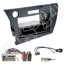 Honda CR-Z ZF1 Doppel-DIN Radioblende+Fach + ISO KFZ Radioadapter + Antenne SET