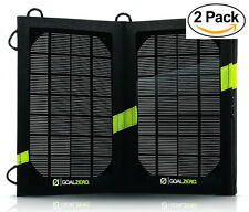 (2-PACK) GOAL ZERO Nomad 7 v2 11800 Portable Folding Solar Panel - Refurbished