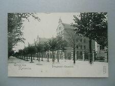 Ansichtskarte Karlsruhe Dragoner Kaserne ca. 1900