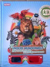 Sammelalbum von REWE: Unsere Wunderwelt; neu + ovp + in Folie // TOP-ERHALTUNG