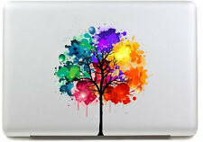 "MacBook Coloured Tree Art Vinyl Decal Sticker For MacBook Pro/Air 13"" inch"