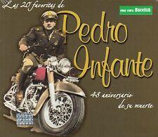 Pedro Infante 48 Aniversario de Su Muerte Las 20 Favoritas CD Caja de Carton New