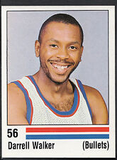 Panini NBA Basketball 1989 Sticker - No 56 - Darrell Walker - Bullets