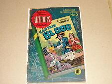 Comic: Famous Authors Illustrated #2 CAPTAIN BLOOD / 1950 Seaboard - Sabatini