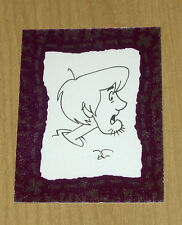 Inkworks Scooby Doo Mysteries sketch card Dan Fraga /277 SK4 SK-4 SHAGGY