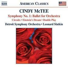 Sinfonie 1: Ballet for Orchestra - Slatkin,Leonard/Detroit SO - McTee,Cindy * CD