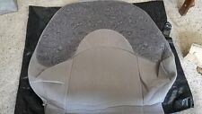 ROVER 200 FRONT SEAT COVER SEAT BACK SMOKESTONE KASHMIR BRAND NEW HBA104471LDT
