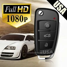 FULL HD 1080P Hidden Spy Keychain Cam Camera DVR Night Vision Motion Detection