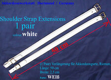 50 cm di estensione per fisarmonica-CINTURE, CINGHIE, Extension for Accordion straps
