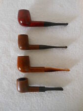 LOT OF 4 Estate PIPES - Made with IMPORTED BRIAR