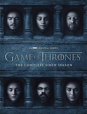 Game of Thrones: The Complete Sixth Season DVD 2016 Brand New Emilia Clarke