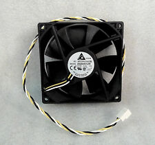 "NEW Delta ASB0912H 92mm x 25mm Quiet High Airflow Fan 18"" Long Wires Micron Case"