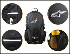 Motorcycle Backpack Rucksack Motorbike Helmet Touring Helmet Bike Bag Black