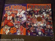 CLEMSON TIGERS 2002 Football Guide AND 2002 HOMECOMING THE WAKE FOREST GAME