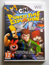Jeu PUNCH TIME EXPLOSION XL sur Nintendo Wii NEUF sous blister VF
